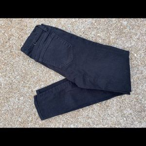 J. Crew toothpick, black jeans